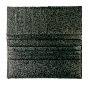 40580エリート札入半製品 黒